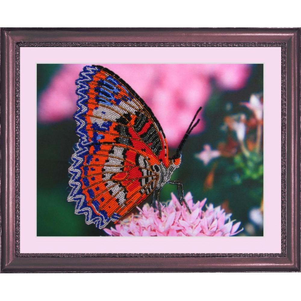 102 Метелик. Butterfly. Набір для вишивання бісером
