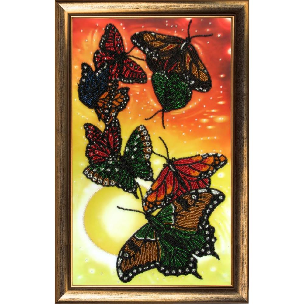 106 Вальс метеликів. Butterfly. Набір для вишивання бісером
