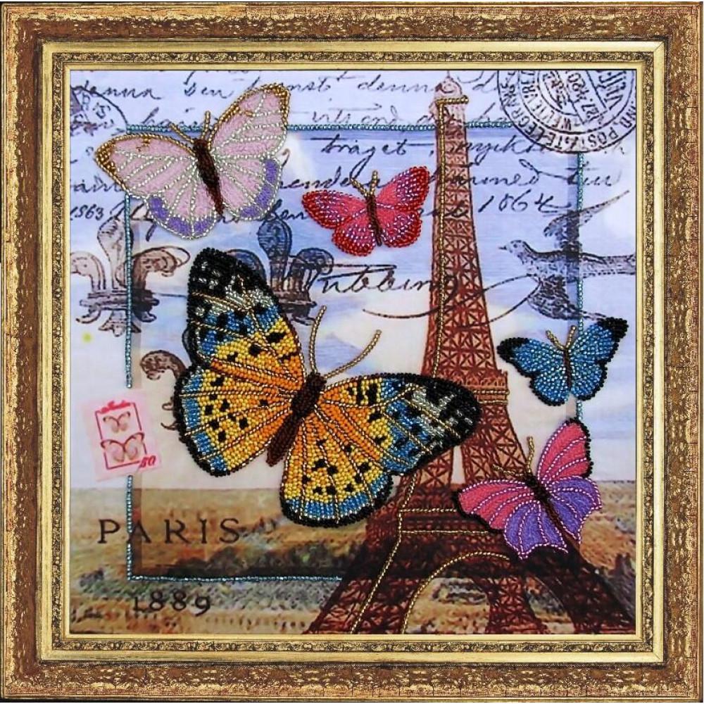 107 Привіт з Парижа. Butterfly. Набір для вишивання бісером