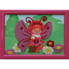 903 Метелик. Butterfly. Схема на тканині для вишивання бісером