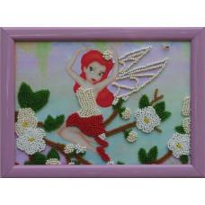 919 Фея. Butterfly. Схема на тканині для вишивання бісером