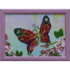 920 Метелик. Butterfly. Схема на тканині для вишивання бісером