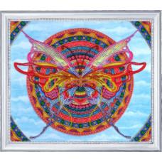 118 Мандала-бабочка. Butterfly. Набор для вышивания бисером