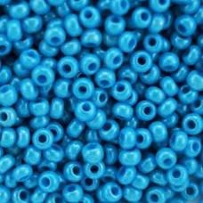 16165 бісер №10 Preciosa (Чехія) 50 грам (Блакитний)