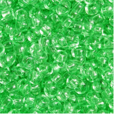 01161 бисер №10 Preciosa (Чехия) 50 грамм (Зеленый)