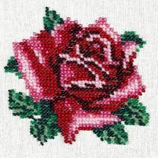 L426 Ніжна троянда. Луїза. Набір для вишивання бісером