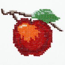 O452 Яблуко. Луїза. Схема на тканині для вишивання бісером