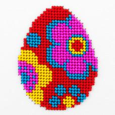 O455 Пасхальне яйце. Луїза. Схема на тканині для вишивання бісером