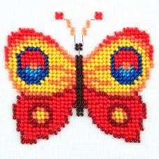 O461 Метелик. Луїза. Схема на тканині для вишивання бісером