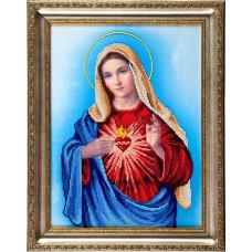 A503 Непорочне Серце Марії. Ангеліка. Схема на тканині для вишивання бісером