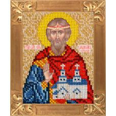 B725 Святий Благовірний Князь Владислав Сербський. Вертоградъ . Набір для вишивання бісером