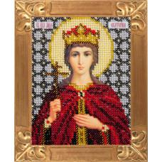 B707 Свята Великомучениця Катерина. Вертоградъ . Набір для вишивання бісером