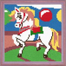 A10 Цирковий поні. Чарівниця. Канва з нанесеним малюнком