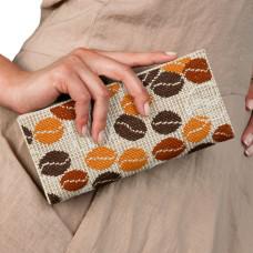 C202 Арабика. Клатч. Набор для вышивания и шитья
