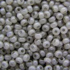 02141 бісер №10 Preciosa (Чехія) 50 грам (Сірий)