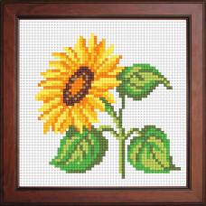 N1036 Соняшник. Orchidea. Набір для вишивання нитками на канві з нанесеним малюнком