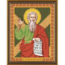 БИС5151 Святой Апостол Андрей Первозванный. Новая Слобода. Схема на ткани для вышивания бисером