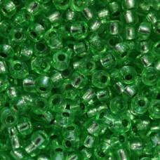 08256 бісер №10 Preciosa (Чехія) 50 грам (Зелений)