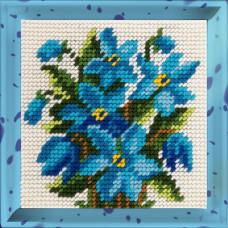 X2002 Проліски. Bambini. Набір для вишивання нитками на канві з нанесеним малюнком