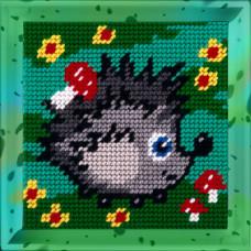 X2011 Їжачок. Bambini. Набір для вишивання нитками на канві з нанесеним малюнком
