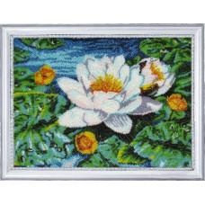 279 Німфея озерна (по картині Е. Озерської). Butterfly. Набір для вишивки бісером