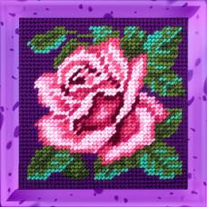 X2023 Пишна троянда. Bambini. Набір для вишивання нитками