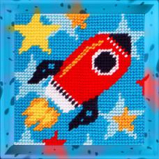 X2005 Ракета. Bambini. Набір для вишивання нитками