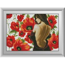 30096 Пора цвітіння. Dream Art. Набір алмазної мозаїки (квадратні, повна)