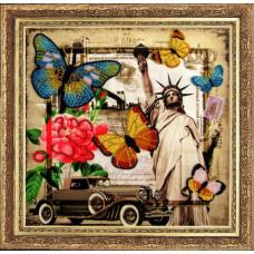 111 Привет из Америки. Butterfly. Набор для вышивания бисером