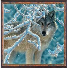 СГ 2503 Волк. Світ гармонії. Схема для вышивания бисером