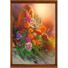 СГ 2509 Цветочный сон. Світ гармонії. Схема для вышивания бисером