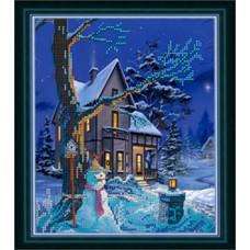 СГ 2513 Рождественский вечер. Світ гармонії. Схема для вышивания бисером