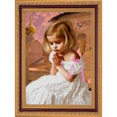СГ 2515 Детская молитва. Світ гармонії. Схема для вышивания бисером
