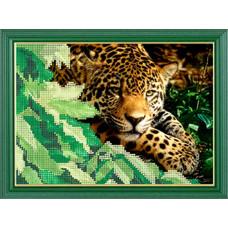 СГ 2505 Леопард. Світ гармонії. Схема для вышивания бисером