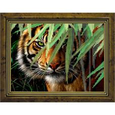 СГ 2506 Тигр. Світ гармонії. Схема для вышивания бисером