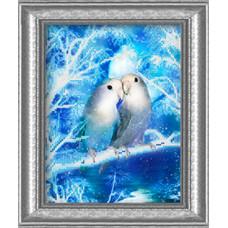 СГ 2507 Снежная пара. Світ гармонії. Схема для вышивания бисером