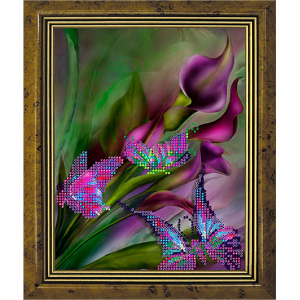 СГ 2512 Фіолетове настрій. Світ гармонії. Схема для вишивання бісером