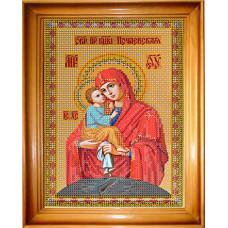 СГ 1002 Богородица Почаевская. Світ гармонії. Схема для вышивания бисером