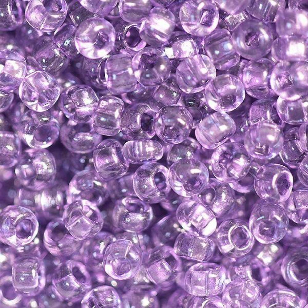 01122 бисер №10 Preciosa (Чехия) 50 грамм (Фиолетовый)