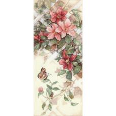 4325 Квіти і метелики. Classic Design. Набір для вишивання нитками