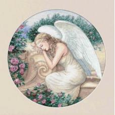 4334 Садовий ангел. Classic Design. Набір для вишивання нитками