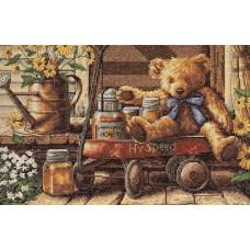 4335 Медовий мишко. Classic Design. Набір для вишивання нитками