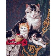 4340 Сімейний портрет. Classic Design. Набір для вишивання нитками
