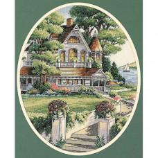 4351 Викторианский дом. Classic Design. Набор для вышивания нитками