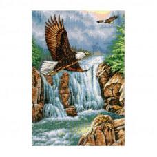4484 Над водоспадом. Classic Design. Набір для вишивки хрестом