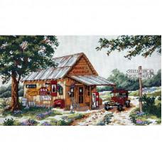 4491 Майстерня біля дороги. Classic Design. Набір для вишивки хрестом