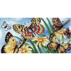 4492 Літні метелики. Classic Design. Набір для вишивки хрестом