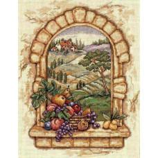 4497 Вид Тоскани. Classic Design. Набір для вишивки хрестом