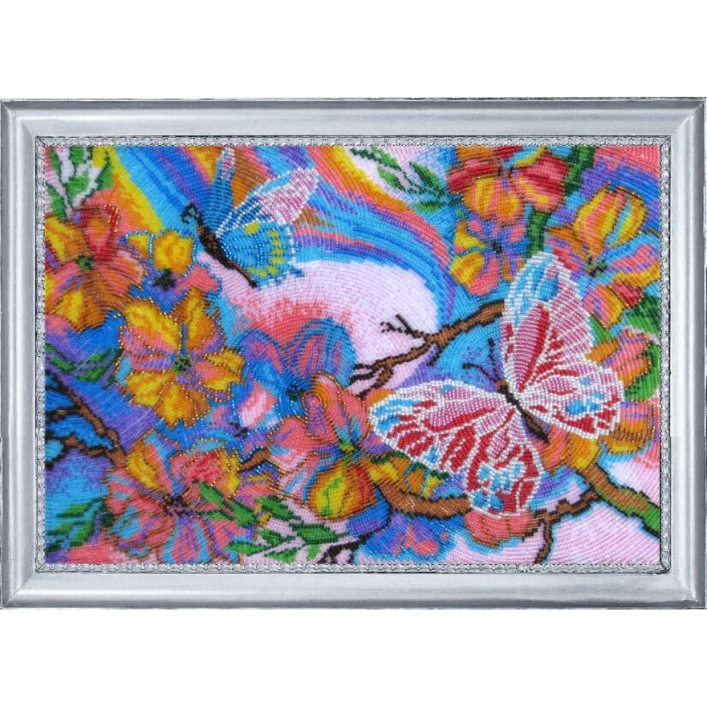 116 Казкові метелики. Butterfly. Набір для вишивання бісером