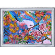 116 Сказочные бабочки. Butterfly. Набор для вышивания бисером